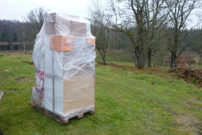 Foto zu Meldung: Spende für Lettland angekommen