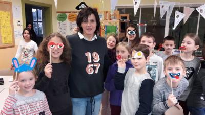 Foto zur Meldung: Geburtstagsgrüße für Frau Rudhart