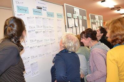 Die Auftaktveranstaltung fand im Oktober 2015 unter großer Beteiligung in der Mensa der Kantschule statt.