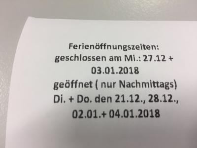 Vorschaubild zur Meldung: (Geänderte) Ferienöffnungszeiten in der Gemeindebücherei Nahe-Itzstedt