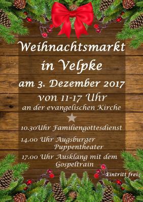 Foto zu Meldung: Weihnachtsmarkt in Velpke am 3. Dezember 2017