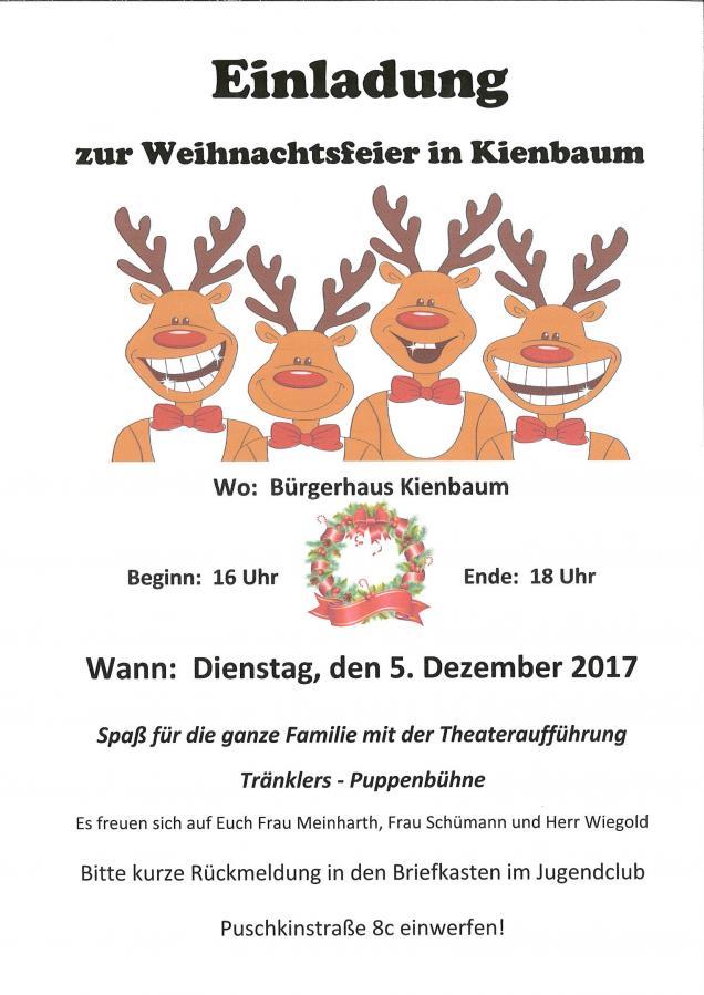 Einladung Zur Weihnachtsfeier.Grunheide Mark Herzliche Einladung Zur Weihnachtsfeier