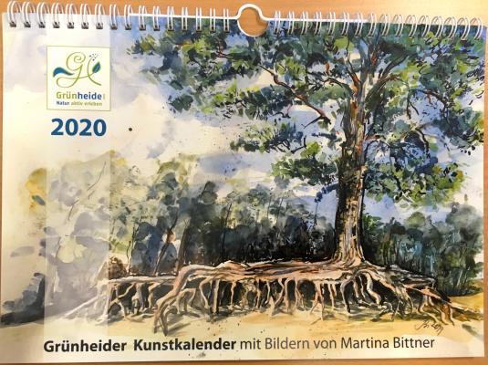 Vorschaubild zur Meldung: Grünheider Kalender 2020 zum Verkauf in der Tourist-Info