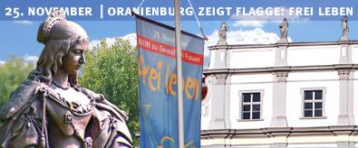 Vorschaubild zur Meldung: Aktionen zum Gedenktag »Nein zu Gewalt an Frauen« in Oranienburg