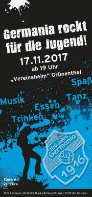 Foto zur Meldung: Jugend - GERMANIA rockt für die Jugend !!!
