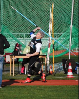 Foto zur Meldung: Winfried Marx Dritter bei NRW-Senioren-Winterwurf-Meisterschaften