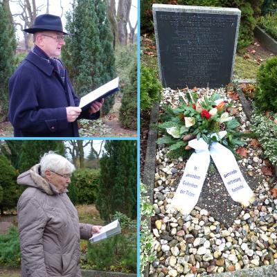 Foto zu Meldung: Gedenken bei gefallenen Soldaten