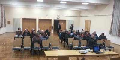 Foto zur Meldung: Erfolgreicher Start in die Dorfentwicklung in Ottrau