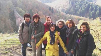 """Vorschaubild zur Meldung: Wanderung der """"Freizeit-Damen"""" des TC Laudert"""