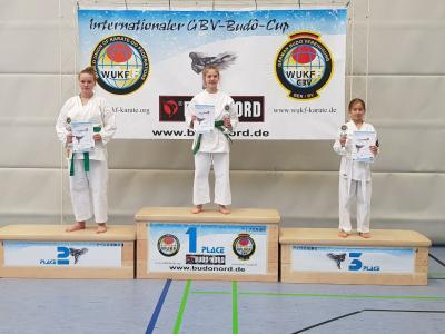Vorschaubild zur Meldung: Internationaler Budo-Cup: Toller 2. Platz für Kim Hannasky