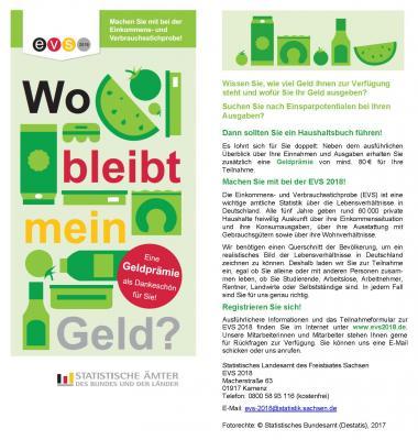 EVS 2018 Flyer - Statistisches Landesamt des Freistaates Sachsen