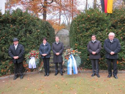 Foto zur Meldung: Gedenkstunde anlässlich des Volkstrauertages