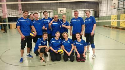 Foto zur Meldung: Francke-Derby Volleyball