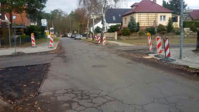 Eintägige Vollsperrung der Kreuzung Neckarstraße/Falkenkorso in Falkensee