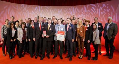 Foto zu Meldung: Wittenberge ist Kommune des Jahres 2017