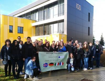 Foto zur Meldung: Erasmus+ : Erstes Schülertreffen in der IGS