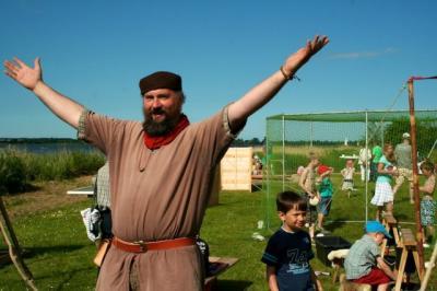 Der Zauberer, Aktionskünstler und Erzieher Samuel Fleps