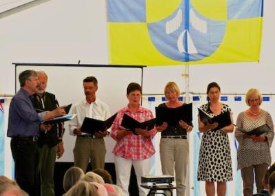 """""""schubydu, der kleine Chor"""" unter Leitung von Dr. Rolf Wichterich"""