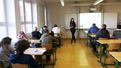 Vorstellung der App AgrarQuiz am OSZ Cottbus