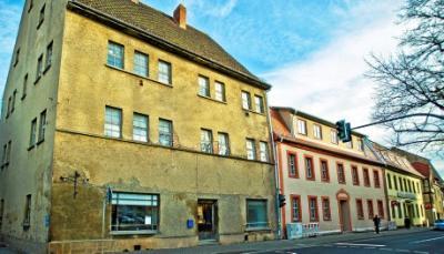 Foto zur Meldung: Zweites Gebäude am Markt in Bad Tennstedt soll in die Kur