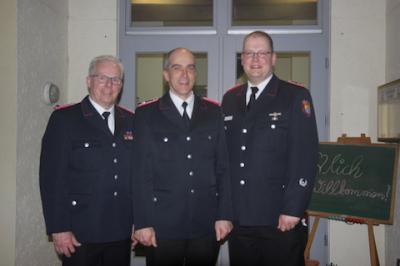 Foto zu Meldung: Wechsel an der Spitze der Borgwedeler Feuerwehr