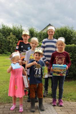 Foto zur Meldung: Kinderfest in Borgwedel