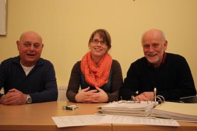 Foto zur Meldung: OKR-Vorsitz: Alfons Tuschen einstimmig wiedergewählt