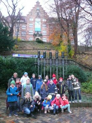 Foto zur Meldung: Besuch der Klasse 3 bei Emil Nolde