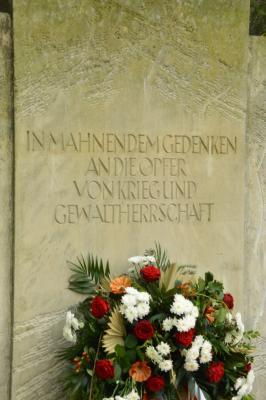 Vorschaubild zur Meldung: Gedenken zum Volkstrauertag