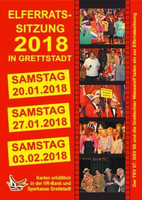 Vorschaubild zur Meldung: 1. Elferratssitzung der Wasserelf Grettstadt am 20.1.2018