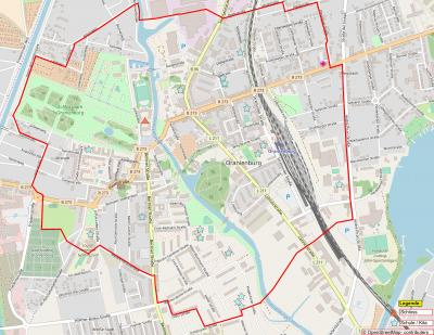 Foto zu Meldung: Bombenverdachtspunkt Louise-Henriette-Steg: 19.12. Abklärung / 20.12. evtl. Entschärfung