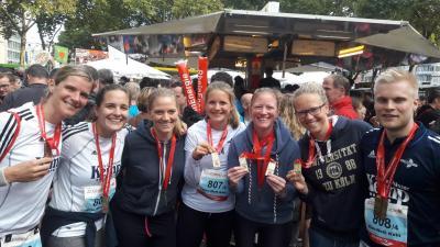 Vorschaubild zur Meldung: Blau Weiss beim Köln-Marathon
