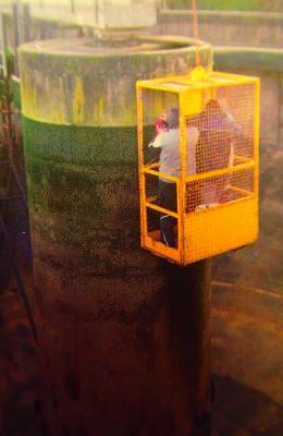 Foto zur Meldung: Sanierung und energetische Optimierung der Kläranlage Nauheim