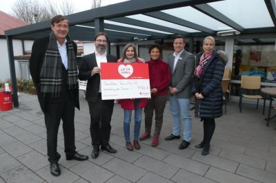 Foto zur Meldung: STC von der HASPA beim Lotterie Sparen begünstigt