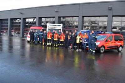 Vorschaubild zur Meldung: Gemeinsame Sanitätsausbildung der Feuerwehren Murg, Laufenburg und des THW Ortsverband Laufenburg vom 06.10.2017 – 28.10.2017