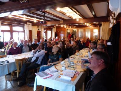 Foto zur Meldung: Erfolgreicher 1. Utzenfeld-Wiedener Bergbau Workshop