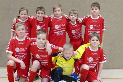 Foto zur Meldung: Hallenkreismeisterschaft im Fußball