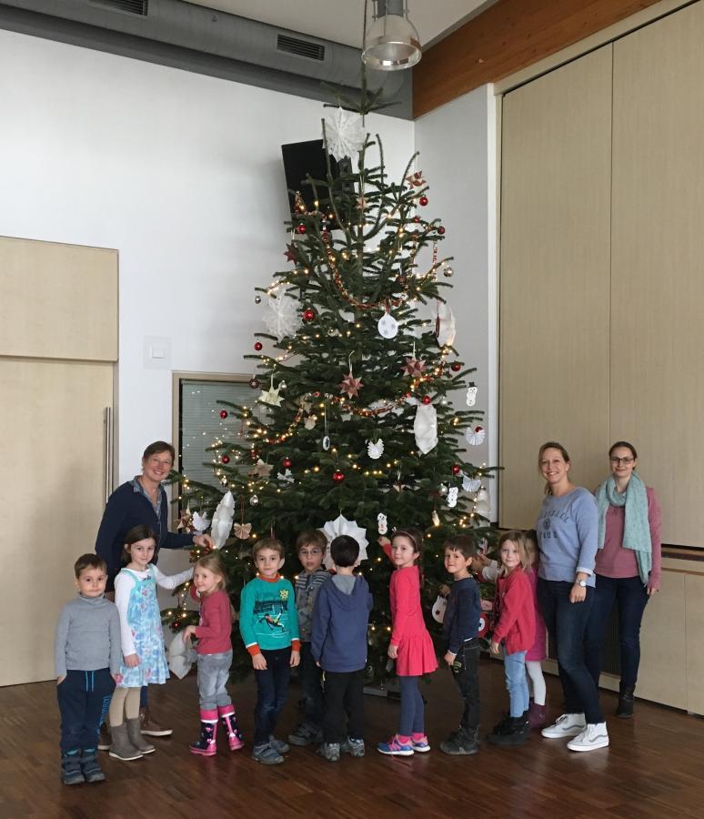 Ortsgemeinde Urbar Bei Koblenz Ein Wunderschöner Weihnachtsbaum