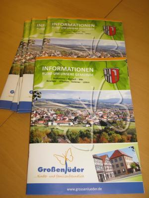 neue Bürgerinformationsbroschüre der Gemeinde Großenlüder