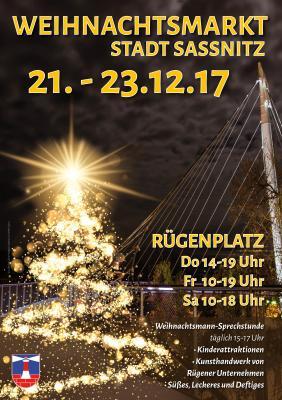 Vorschaubild zur Meldung: Weihnachtsmarkt auf dem Rügen-Platz