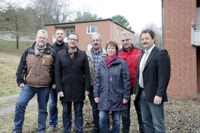 """Weitere Teilfläche von 3.800 qm im Gewerbegebiet """"Husarenpark"""" an die Firma Elektro-Stückrath verkauft."""