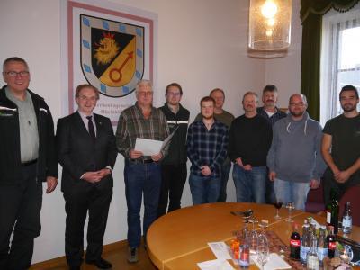 Foto zur Meldung: 40. Dienstjubiläum beim Forstzweckverband Rheinböllen