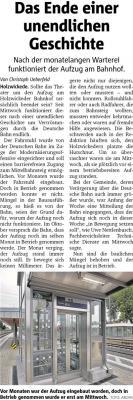 Bericht vom Hellweger Anzeiger vom 07.12.2017