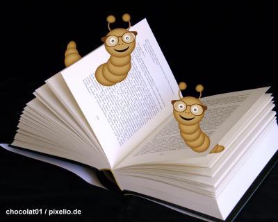 Foto zur Meldung: Knirpse in der Bibliothek