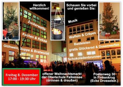 Oberschule Falkensee lädt zum Weihnachtsmarkt ein