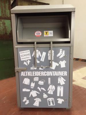 Foto zur Meldung: Andere Container für Altkleider