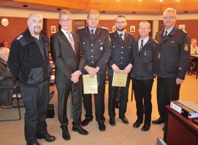 Foto zur Meldung: Führungskräfte in der Feuerwehr