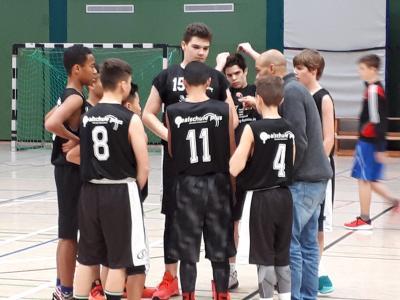 Vorschaubild zur Meldung: Großer Erfolg für die Basketballmannschaft