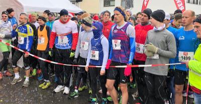 Foto zur Meldung: Streckenrekord von Christian Schreiner beim Mondorfer Weihnachtslauf