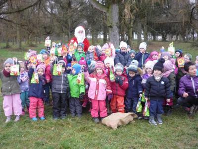 Vorschaubild zur Meldung: Nikolaustag im Kindergarten Hegelstrasse